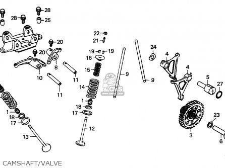 camshaft/valve
