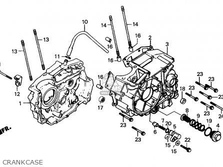 Honda Cg125 1995 S England Parts Lists And Schematics