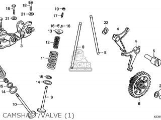Honda Cg125 Engine Schematic