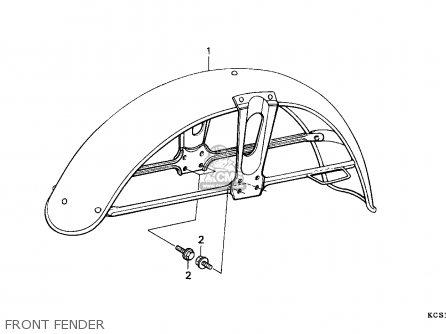 Honda Cg125 2000 Y Mexico Parts Lists And Schematics
