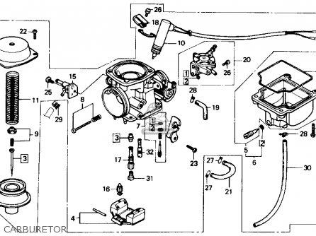 honda ch150d elite 150 deluxe 1985 usa parts list