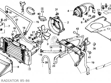 Honda Elite 80 Engine Diagram