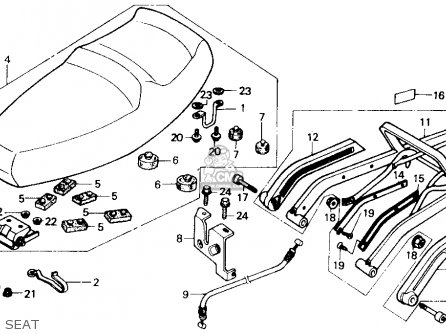1986 Honda Helix Scooter Parts. 1986. Find Image About Wiring ...: Honda Helix Wiring Diagram at e-platina.org