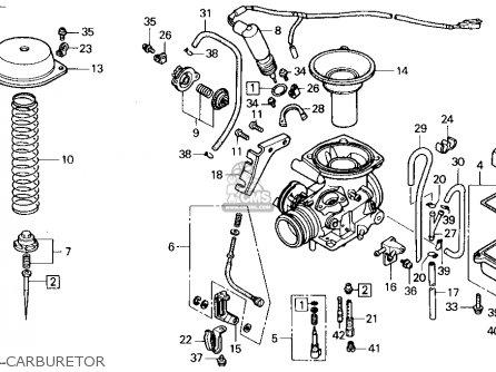 honda elite ch250 parts