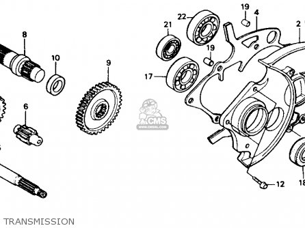 Honda Foreman Fuel Filter Location together with Honda Fourtrax 300 Rear Axle Diagram as well 2006 Honda Element Wiring Diagram also Ford L8000 Wiring Diagram likewise Partslist. on honda recon transmission diagram