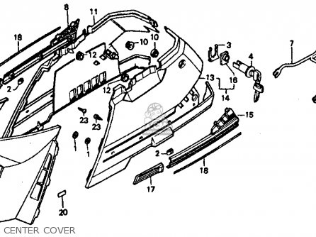 1994 honda civic stereo wiring diagram 1994 honda elite 80 wiring diagram honda ch80 elite 80 1986 (g) usa parts list partsmanual ...