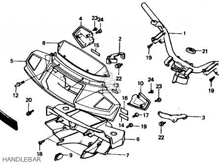 honda ch80 elite 80 1986 g usa parts list partsmanual. Black Bedroom Furniture Sets. Home Design Ideas