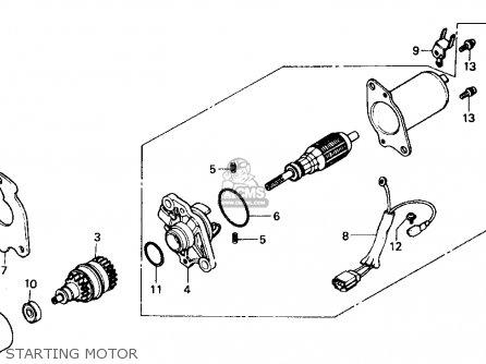 honda aero 80 wiring diagram 1994 honda elite 80 wiring diagram #6