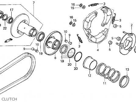 Honda Elite 80 Wiring Diagram