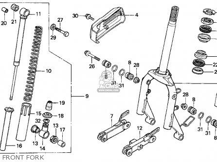 honda ch80 elite 80 1994 (r) usa parts lists and schematics honda elite 50 wiring diagram 1994 honda elite 80 wiring diagram #4