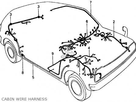 Honda Civic 1977 3dr1200 Ka Parts Lists And Schematics