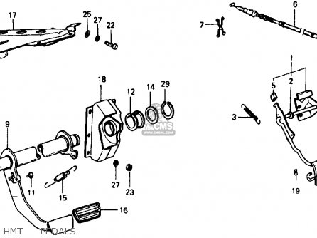 honda civic 1977 3dr1200  ka  parts list partsmanual