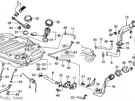 1994 Honda Civic Parts Catalog