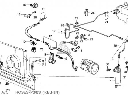 94 Honda Accord Ac Hose Diagram