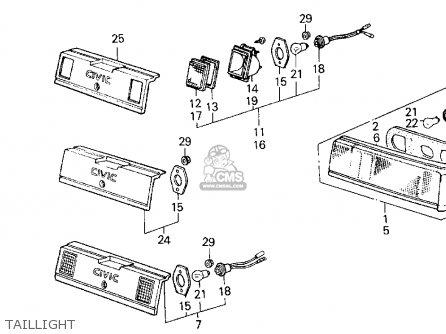 87 Honda Civic Parts