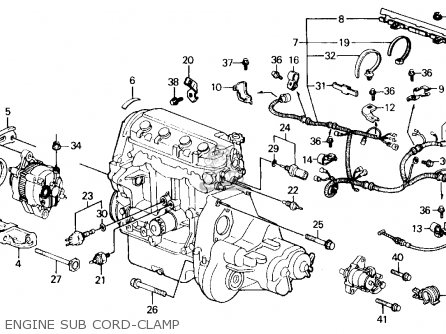 Honda Civic Engine Diagram Oil Pan