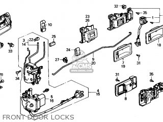 88 Acura Integra Fuse Box Diagram