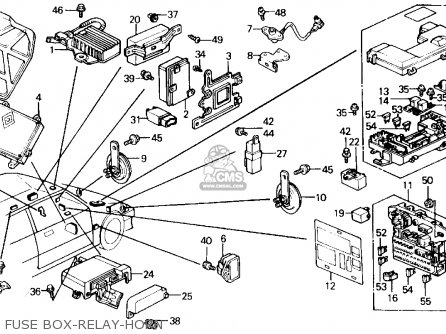 Honda Civic 1988 J 4dr Dx Kakl Parts Lists And Schematics