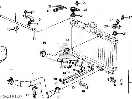 1989 Honda Civic Dx Engine