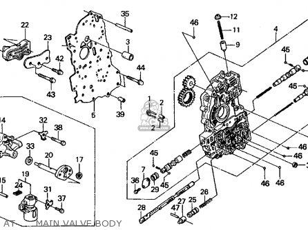 honda civic 1995 4dr lx ka engine mount schematic partsfiche wire rh linewired co