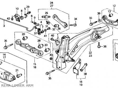 H22a4 Engine Diagram