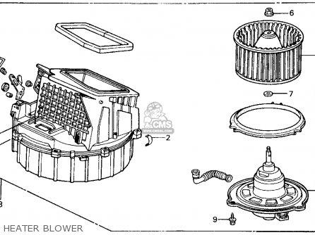 2000 Honda Civic Si Fuse Box Diagram