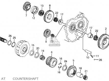 Honda Civic 1990 L 4dr Ex Kakl Parts Lists And Schematics