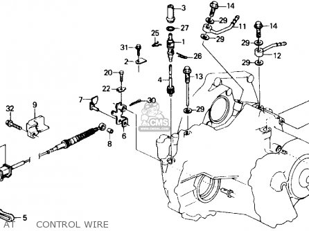 Honda Civic 1991 M 4dr Dx Kakl Parts Lists And Schematics