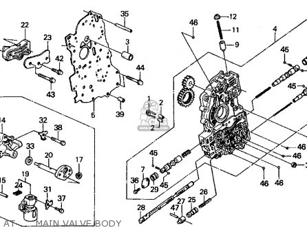 Honda Civic 1991 M 4dr Lx Kakl Parts Lists And Schematics