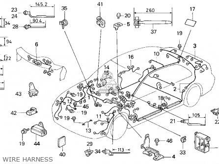 Honda Civic 1992 N 4dr Lx Kakl Parts Lists And Schematics