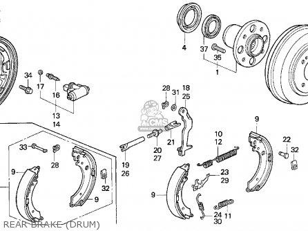 Honda       Civic    1994 3dr Cx  ka kl  parts list partsmanual partsfiche
