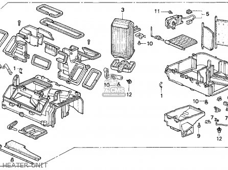 2002 Honda Accord Door Latch Diagram
