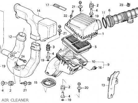 Honda Civic 1994 R 4dr Lx Kakl Parts Lists And Schematics