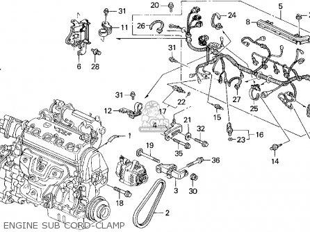 1995 honda civic engine mount diagram 2010 honda pilot