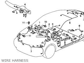 honda civic 1996 t 2dr ex ka kl parts lists and schematics 92 Honda Civic Ex honda civic 1996 t 2dr ex ka kl wire harness