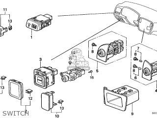honda civic 1996 t 3dr dx ka kl parts lists and schematics 2009 Honda Civic Wiring Diagram honda civic 1996 t 3dr dx ka kl switch switch honda civic 1996