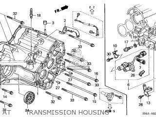 Honda Civic 2000 Y 4dr Gx Ka Parts Lists And Schematics