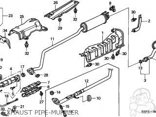 Honda Civic 2002 2 2dr Ex Ka Parts Lists And Schematics