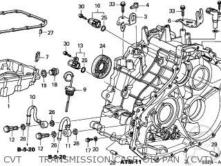 Cvt Transmission Case Oil Pan Honda Civic 2003