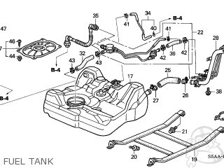 Honda Civic 2004 4 4dr Dx Ka Parts Lists And Schematics