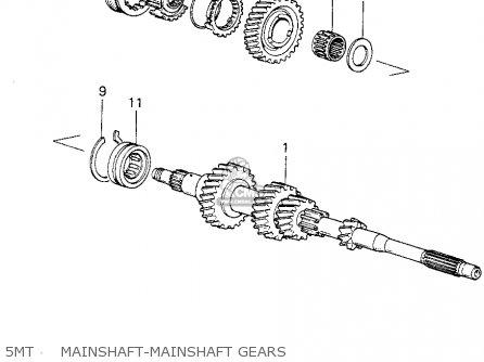 honda civic htbk  wagon 1983 3dr dx 1500  ka kh kl  parts