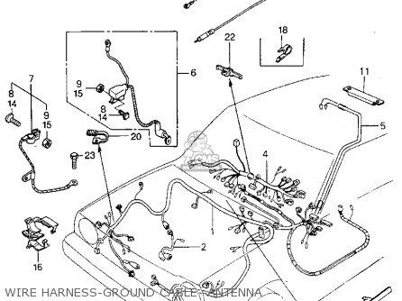 Honda Civic Htbkwagon 1983 D 3dr S 1500 Kakhkl Parts Lists