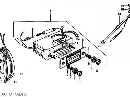 1976 Honda Civic Wiring Diagram