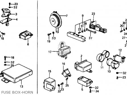 Honda Civic Sedan 1976 3dr1500 Kakl Parts Lists And Schematics