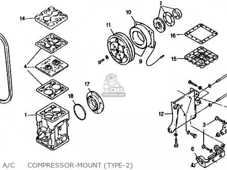 Ac Compressor Components Diagram