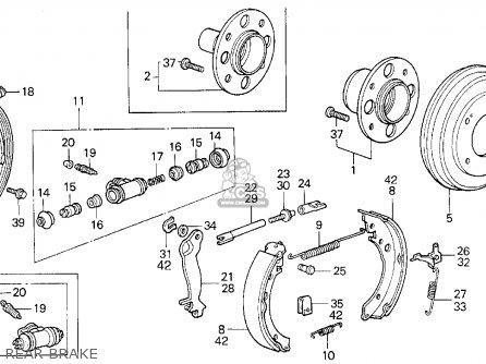 Honda Civic Wagon Wgn Dx Ka Kl Rear Brake Medium B Ef on Wiring Diagram Honda Accord Lxi 1989