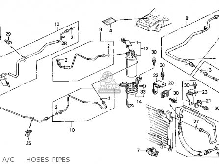 2009 Ford Edge Fuse Panelbox And Relay Passenger  partment also T614145 Overheating 2001 jeep grand cherokee together with Ac Wd Wiring Diagram as well 96 Jetta Engine Diagram together with Wiring And Connectors Locations Of Honda Accord Air Conditioning System 94 07. on 2003 jetta ac wiring schematic