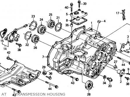 Honda Civic Wagon 1991 M Wgn 4wd 1600 Kakl Parts Lists And