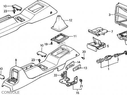 1992 Honda Civic Fuse Box Diagram