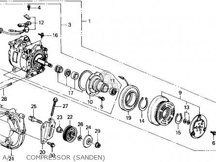 honda civic wagon 1991 wgn dx (ka,kl) parts list ... 1991 honda accord ac wiring diagram
